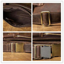 Load image into Gallery viewer, Casual Leather Chest & Shoulder Bag Premium Leather
