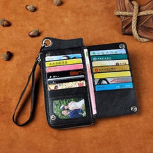 Load image into Gallery viewer, Cattlemen's Designer Organizer Wallet Premium Leather