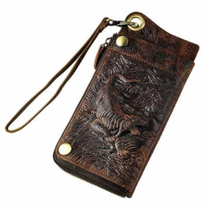 Cattlemen's Designer Organizer Wallet Premium Leather