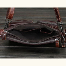 Load image into Gallery viewer, Cinnoman Full Grain Leather Crossbody Messenger Bag