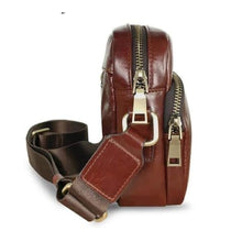 Load image into Gallery viewer, Contempo Leather Men's Messenger Bag Casual Crossbody 65697002817-chocolate Premium Leather