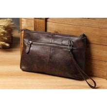 Load image into Gallery viewer, Contemporary Leather Clutch/handbag Premium Leather