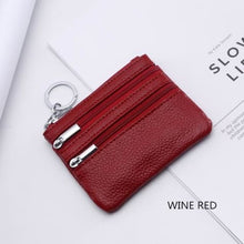 Load image into Gallery viewer, Cor Dior Authentic top Grain Leather Wristlet/wallet Premium Leather