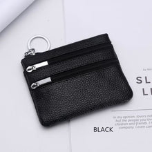 Load image into Gallery viewer, Cor Dior Authentic top Grain Leather Wristlet/wallet Black Premium Leather