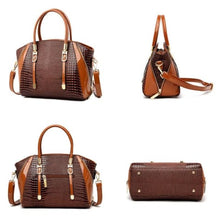 Load image into Gallery viewer, Cottonwood Ladies' Leather Fashion Hand and Shoulder Bag Premium Leather