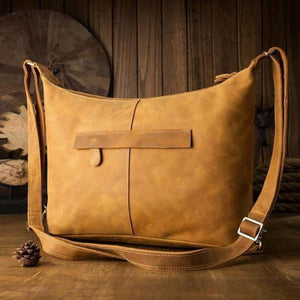 Crazy Horse Leather Backpack & Messenger Bag