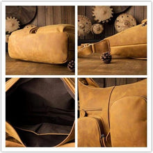 Load image into Gallery viewer, Crazy Horse Leather Backpack & Messenger Bag