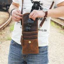 Load image into Gallery viewer, Crazy Horse Leather Mini Satchel Premium Leather