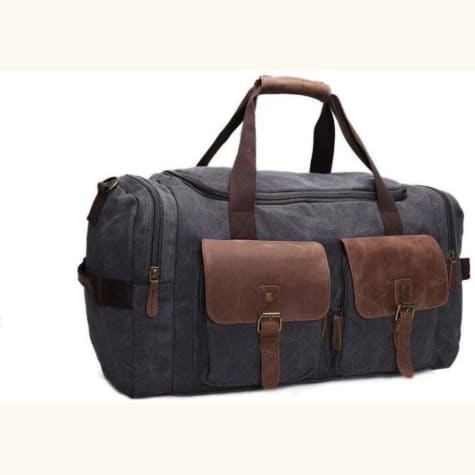 Crazy Horse Leather Travel Bag/duffle Bag