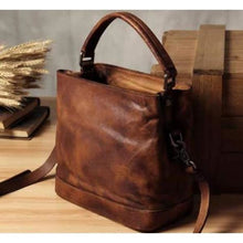 Load image into Gallery viewer, Designer Leather Handbag/clutch & Crossbody Bag Premium Leather