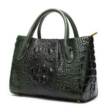 Load image into Gallery viewer, Deux Tons Leather Shoulder and Cross Body Bag 99199z4green Premium Leather