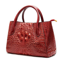 Load image into Gallery viewer, Deux Tons Leather Shoulder and Cross Body Bag 99199ac4red Premium Leather