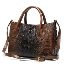 Load image into Gallery viewer, Deux Tons Leather Shoulder and Cross Body Bag Premium Leather