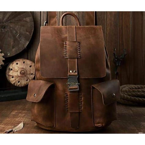 Dynamic Leather Travel/work & Weekend Backpack Premium Leather