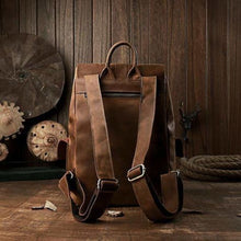 Load image into Gallery viewer, Dynamic Leather Travel/work & Weekend Backpack