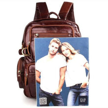 Load image into Gallery viewer, Eplesima' Authentic Leather Backpack Purse and Travel Bag Premium Leather