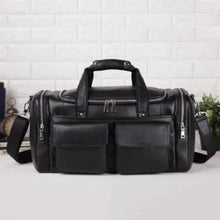 Load image into Gallery viewer, Essential Leather Travel & Duffel Bag/busines Tote Premium Leather