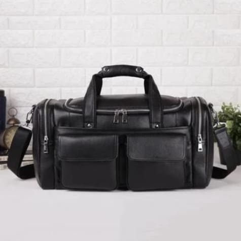 Essential Leather Travel & Duffel Bag/busines Tote
