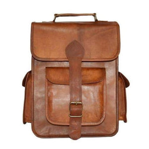 Forever Leather Backpack/travel Bag & Satchel Premium Leather