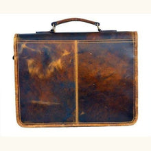 Load image into Gallery viewer, Full Grain Leather Body Satchel/messenger Bag Premium Leather