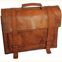 Load image into Gallery viewer, Full Grain Luxury Briefcase Premium Leather