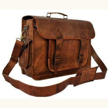 Load image into Gallery viewer, Goat Leather Classic Vintage Camera Bag Premium Leather