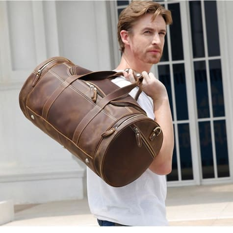 Grande Authentic Leathertravel Bag and Duffel Premium Leather