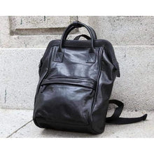 Load image into Gallery viewer, Handcrafted Luxurious Leather Travel Backpack Large Premium Leather