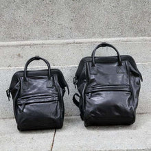 Load image into Gallery viewer, Handcrafted Luxurious Leather Travel Backpack Premium Leather