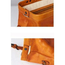 Load image into Gallery viewer, Handmade Leather Corssbody/hand & Doctor's Bag Premium Leather