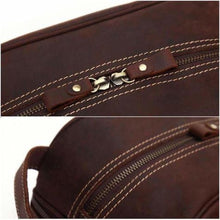 Load image into Gallery viewer, Haute Couture Crazy Horse Leather Casual Clutch/travel Bag Premium Leather