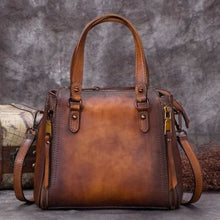 Load image into Gallery viewer, Incroyablement Belle Leather Laptop/satchel and Women's Handbag Brown Premium Leather