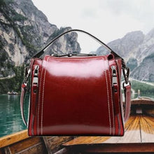 Load image into Gallery viewer, Joli Leather Vegetable Oil Waxed Calf Handbag Premium Leather