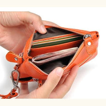 Load image into Gallery viewer, La Grange Authentic Leather Wrist Wallet & Clutch Premium Leather