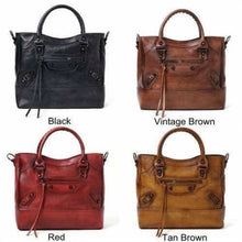 Load image into Gallery viewer, Ladies Tasseled Leather Fashion Handbag