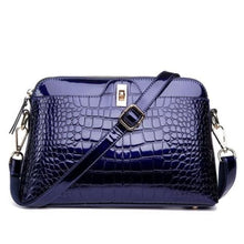 Load image into Gallery viewer, Larenia Luxurious Leather Shoulder Bag for Women Blue