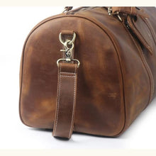 Load image into Gallery viewer, Large Crazy Horse full Grain Leather Travel Duffel Premium Leather