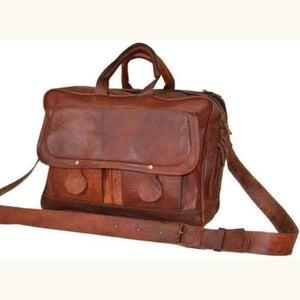 Leather Business Messenger Bag/briefcase Premium Leather