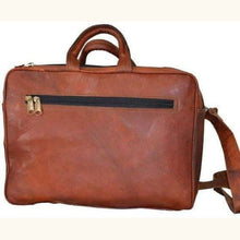 Load image into Gallery viewer, Leather Business Messenger Bag/briefcase Premium Leather