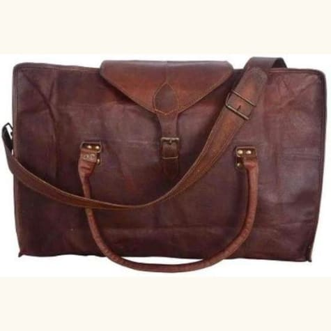 Leather Handcrafted Classic Travel/duffle Bag