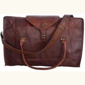 Leather Handcrafted Classic Travel/duffle Bag Premium Leather