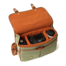 Load image into Gallery viewer, Leather Hunter Photographic Dslr Camera Bag Premium Leather