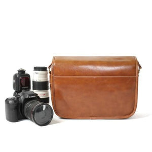 Leather Hunter Photographic Dslr Camera Bag Premium Leather