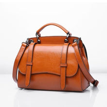 Load image into Gallery viewer, Leather Ladies' Simplicity Shoulder Bag Premium Leather