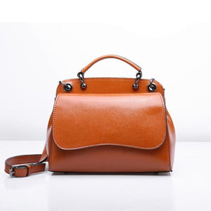 Leather Ladies' Simplicity Shoulder Bag Premium Leather