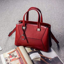 Load image into Gallery viewer, Lioness Authentic Leather Women's Shoulder/crossbody Handbag Red