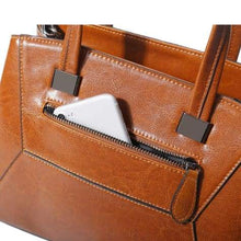 Load image into Gallery viewer, Lioness Authentic Leather Women's Shoulder/crossbody Handbag