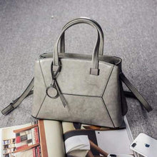 Load image into Gallery viewer, Lioness Authentic Leather Women's Shoulder/crossbody Handbag Grey
