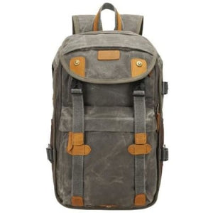 Lowepro Batik Canvas Camera Backpack Large Waterproof Photography Bag Army Green Premium Leather