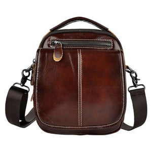 Maple Waxed Leather Hand/crossbody Bag Premium Leather